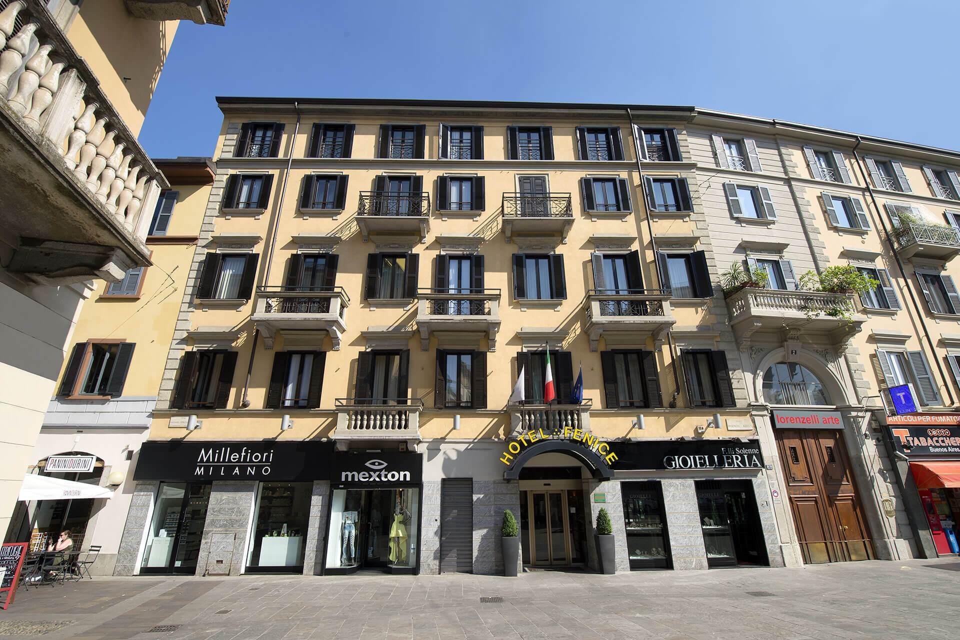 Hotel hotel fenice milano for Hotel fenice milano